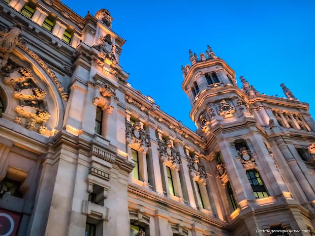 Palacio de Correos y actual Ayuntamiento de Madrid