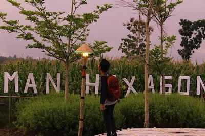 Hasil Foto Taman Hexagone