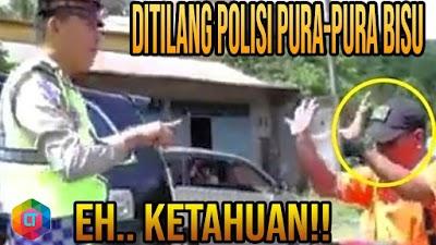 DITILANG POLISI LUCU! MOMEN ANEH PENGENDARA KENA TILANG