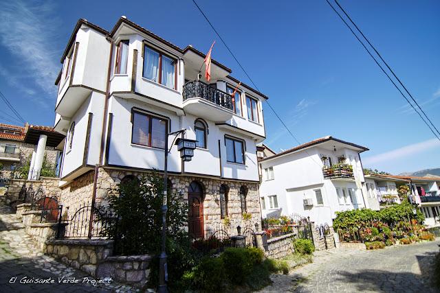 Casas Tradicionales de Ohrid - Macedonia por El Guisante Verde Project