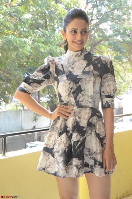 Rakul Preet Singh in beautiful Short Dress Cute Pics Nov 2017 ~  Exlusive 001.jpg