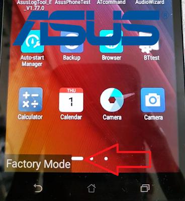 2 Cara Mudah Keluar/Exit Dari Factory Mode Asus Zenfone MAX ZC550KL