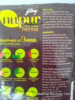 Godrej Herbal Mehandi Review