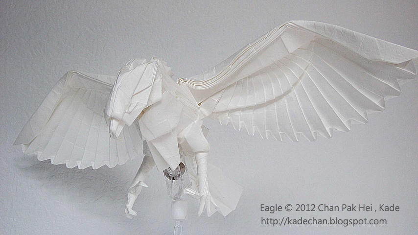 Origami Immortal Crane tutorial 摺紙萬壽仙鶴教學 ( Kade Chan ... | 480x854