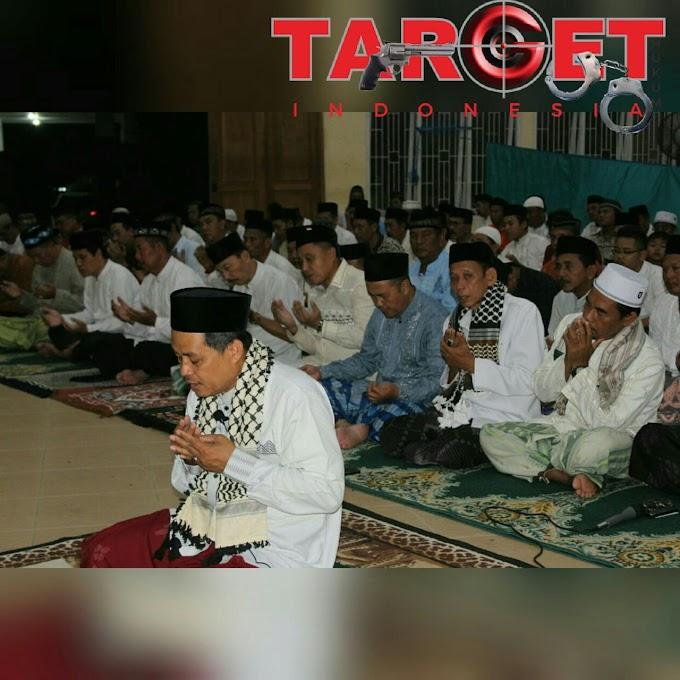 Tarwih dan Do'a Bersama Jalin Ukhuwah Islamiyah di SMAN 03 Pati
