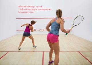 Manfaat Olahraga Squash Bagi Kesehatan Tubuh