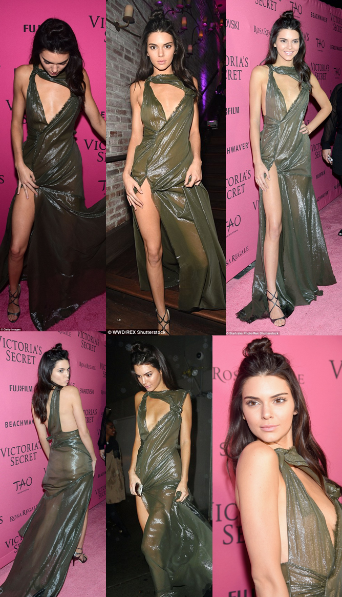 Kendall Jenner Once Again Hit Social Media By Storm With Her Controversial Dress!