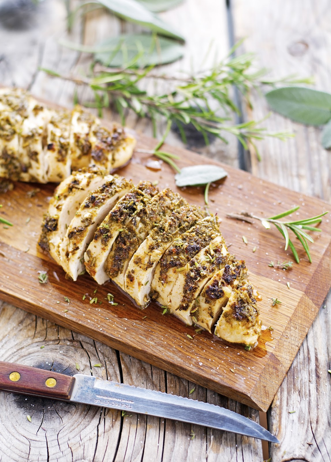 (Easy) Herb Roasted Chicken Breast
