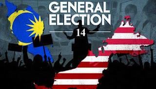 keputusan pilihan raya general election PRU14 malaysia