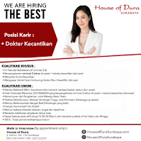 Walk In Interview The Best at House of Dura Surabaya Februari 2021