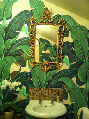 Marvelous Martinique Banana Leaf Wallpaper Vs The Thrill Of
