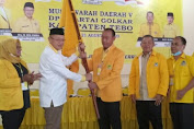 Terpilih Secara Aklamasi, Sukandar Pimpin DPD II Golkar Tebo