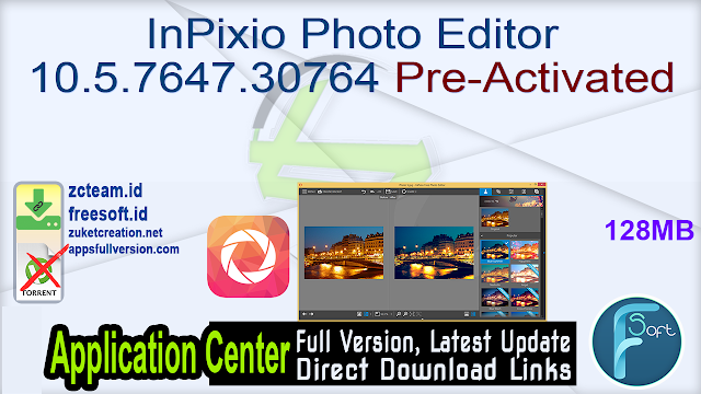 InPixio Photo Editor 10.5.7647.30764 Pre-Activated_ ZcTeam.id