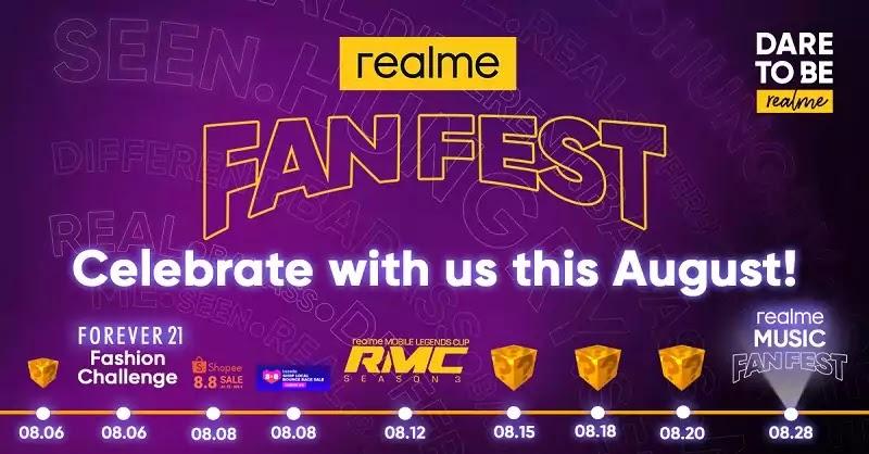 realme Fan Fest this August