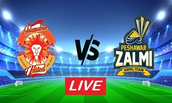 Peshawar Zalmi vs Islamabad United Match Live Streaming
