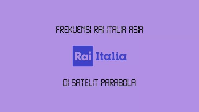 Frekuensi RAI Italia Asia di Asiasat 5