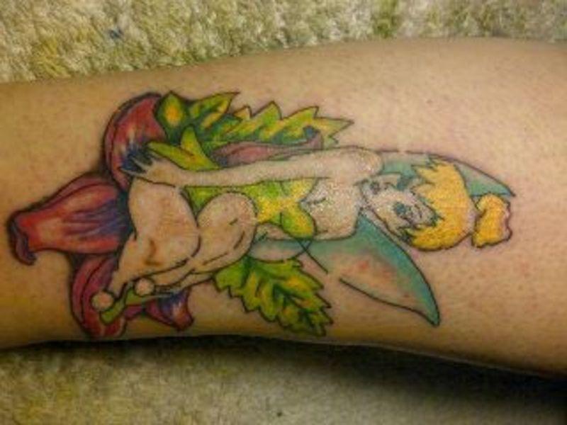 Tinkerbell Tattoos:Slodive Tattoos