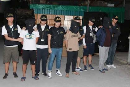 Bea Cukai Hong Kong Menyita  Jutaan Rokok Ilegal 3 Pria ini Langsung di Bekuk