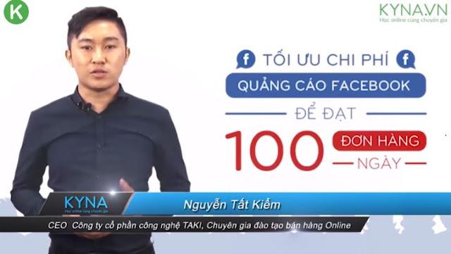 Khóa học tối ưu chi phí quảng cáo Facebook để đạt 50-100 đơn hàng/ngày