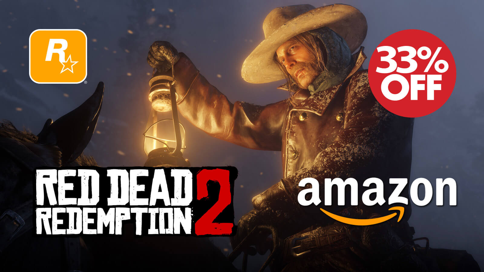 Red Dead Redemption 2 is Discounted on Amazon - Gameslaught