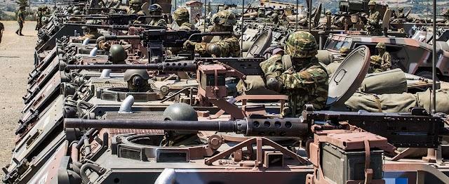 Διπλή γιορτή για τον Στρατό Ξηράς στην παρέλαση της 25ης Μαρτίου (ΦΩΤΟ)