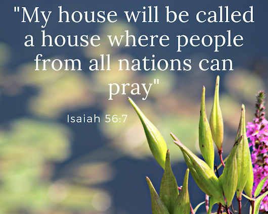 A house of prayer for all peoples