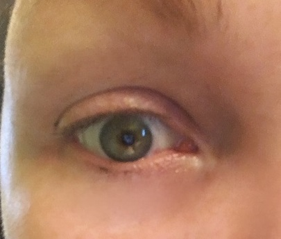 dfda2053594 Here is a photo of my eyelashes with one coat of COVERGIRL Peacock Flare  Mascara: