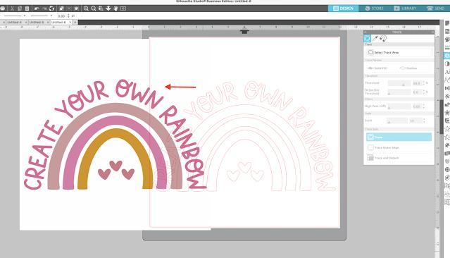 silhouette studio, silhouette studio v4, fill color tool, trace, trace by color