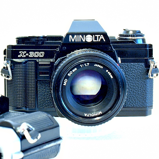 Minolta X-300 35mm SLR Film Camera