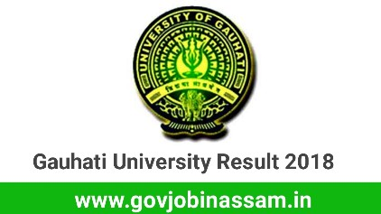 Gauhati University Result 2018, gu results