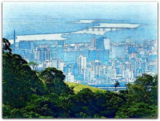 Gasômetro, Ponte e Estádio Olímpico, Porto Alegre, RS