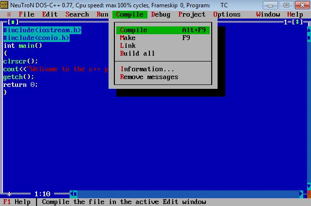 c++ compiler download