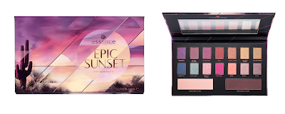 essence epic sunset eyeshadow palette