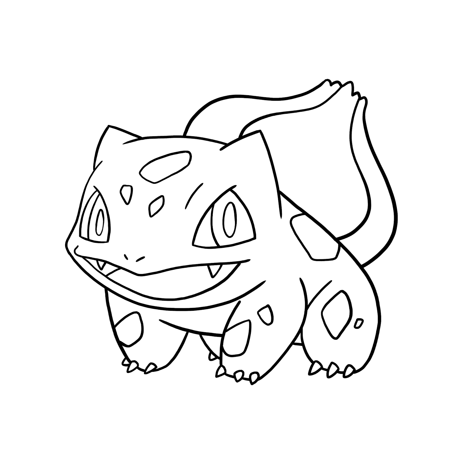 Bulbasaur Coloring Pages Free