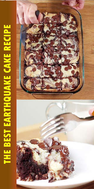 THE BEST EARTHQUAKE CAKE RECIPE
