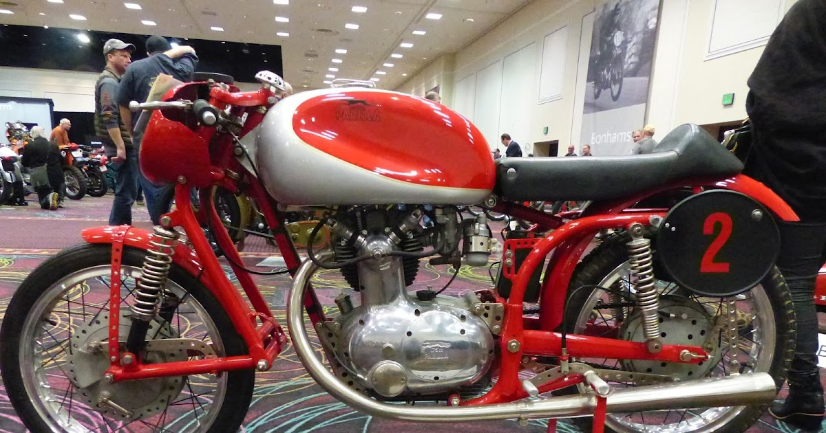 Evel Knievel Bike At Bonham S Las Vegas Moto Auction: OldMotoDude: 1954 Parilla 175cc High Cam Sport For Sale At