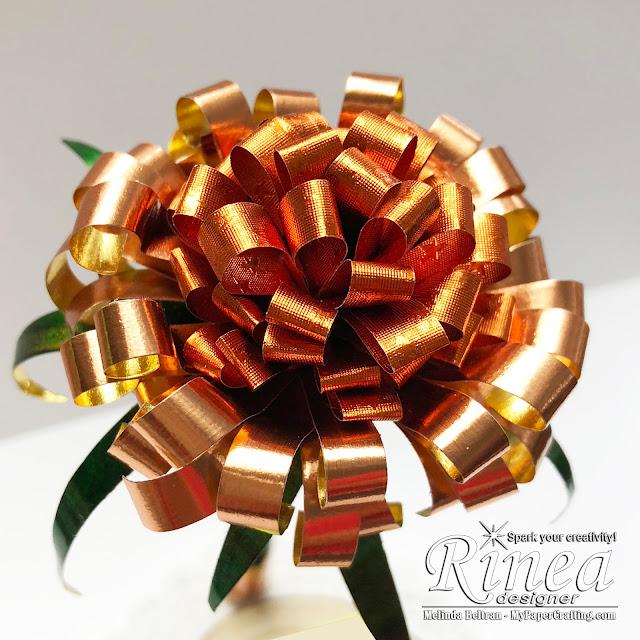 Rinea Foiled Paper Melinda Beltran Crafty Melinda