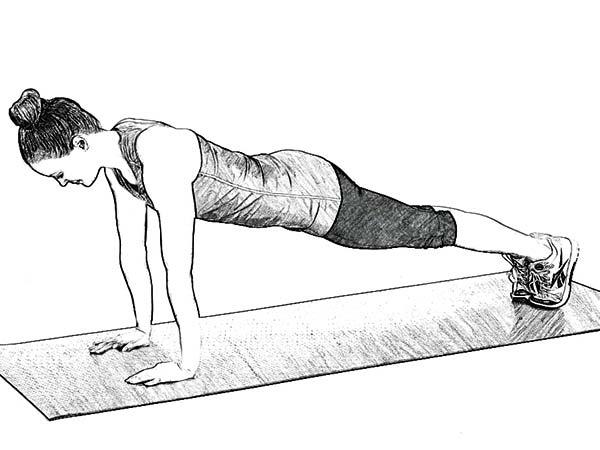 Perut ialah bab tubuh yang sering dipakai untuk mengukur apakah seseorang termasuk  8 Macam Gerakan Plank untuk Mengecilkan Perut