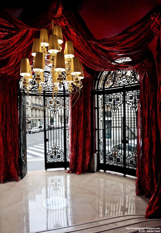 Les plus beaux hotels design du monde h tel banke by for Hotel design paris 8