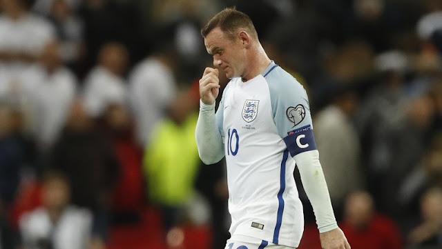 Rooney Dipastikan Absen Lawan Spanyol