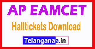 Andhra Pradesh AP EAMCET APEAMCET 2017 Halltickets Download