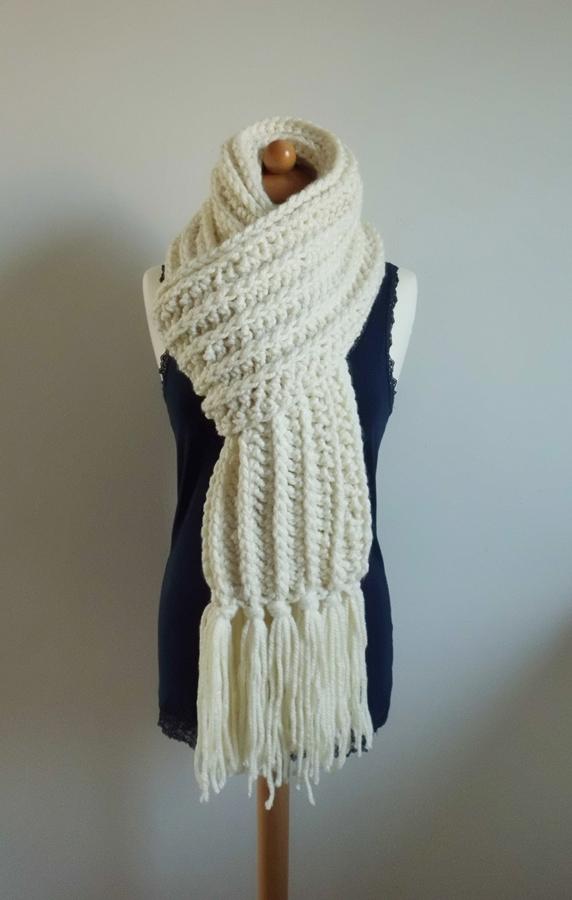 Threadyarknot Een Lange Sjaal