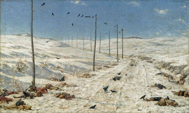 Василий Васильевич Верещагин - Дорога военнопленных. 1879
