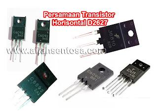 Persamaan Transistor Horisontal D2627