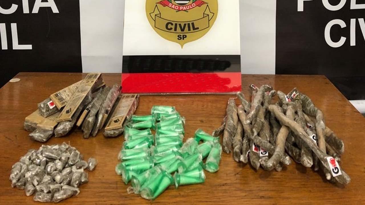 Polícia Civil de Marília prende homem que comercializava drogas em condomínio