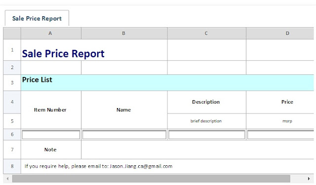 Bring Excel Spreadsheets to Web | Create Web Excel Form with