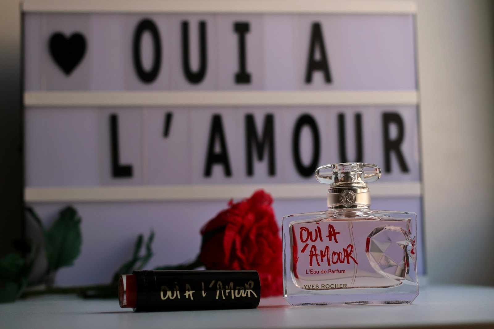 perfume oui a l'amour yves rocher