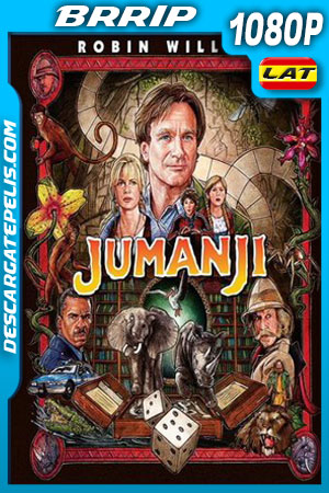 Jumanji (1995) 1080p BRrip Latino – Ingles
