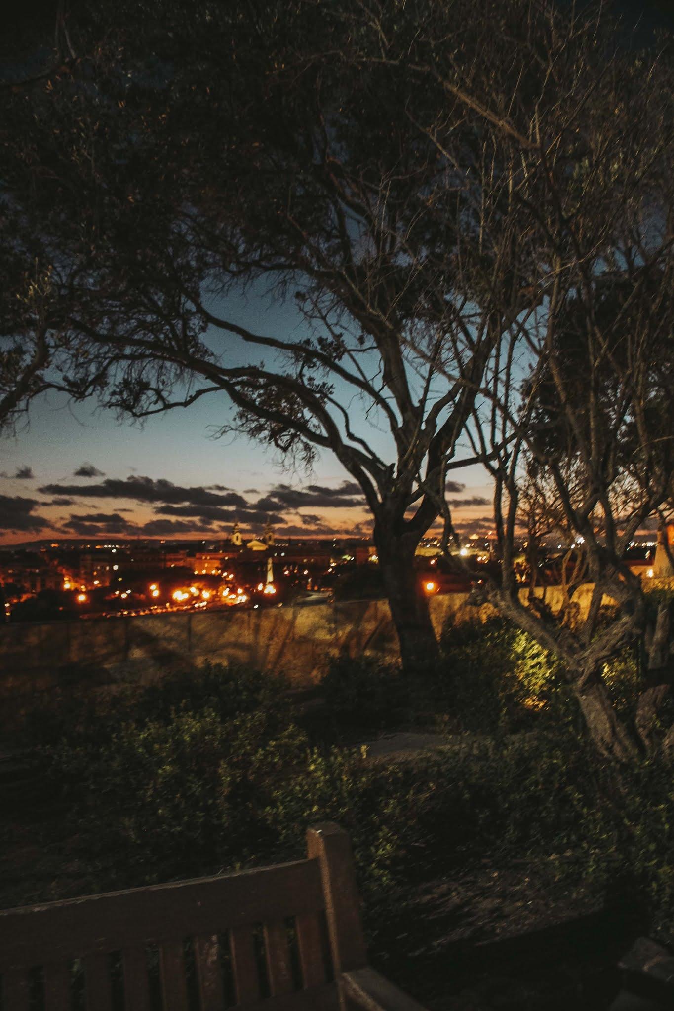 Valetta bei nacht