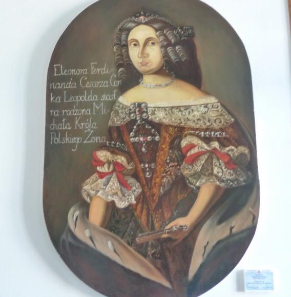 Вишнівецький палац. Портрет Елеонори Марії Австрійської